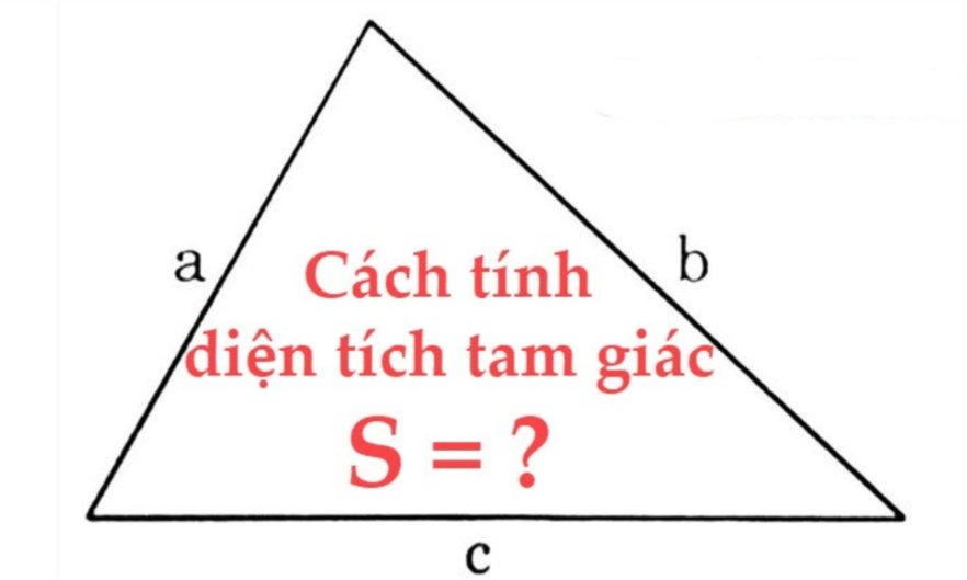 diện tích tam giác